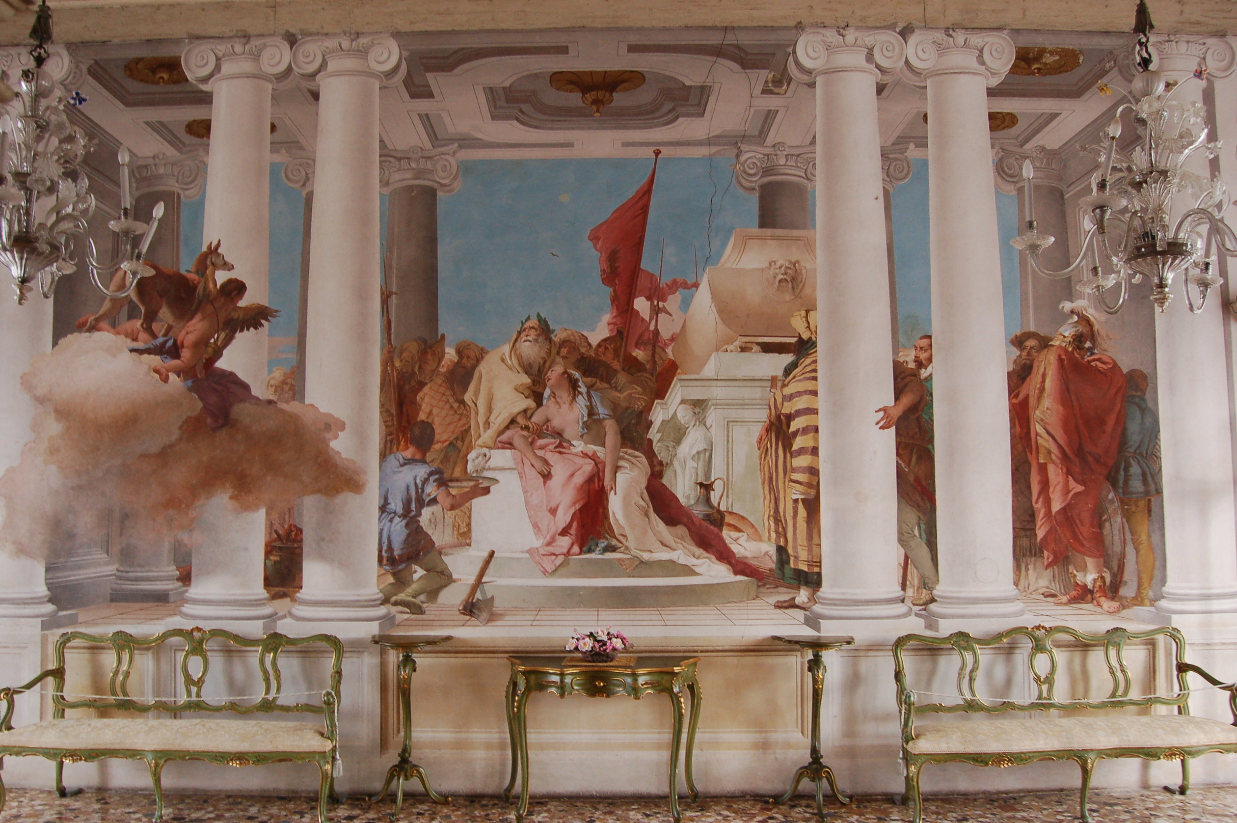 Visite guidate affreschi e pittura veneta Tiepolo